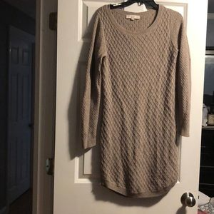 Loft sweater dress